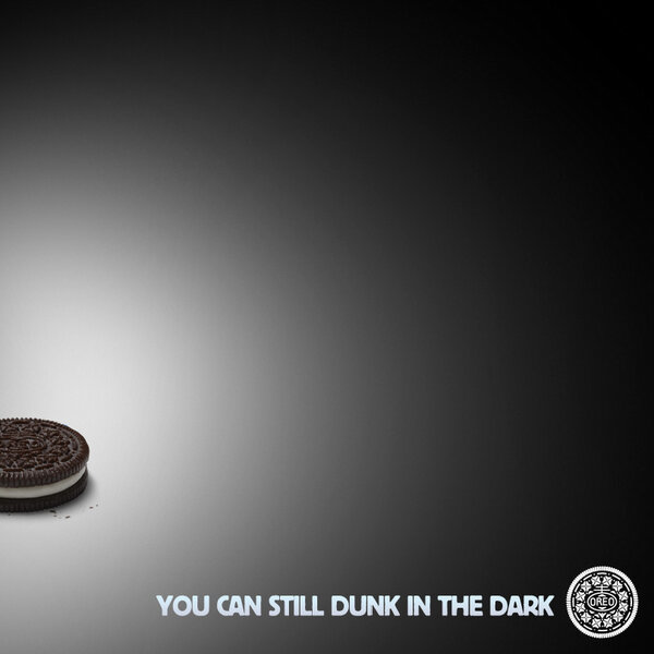 oreo tuit superbowl