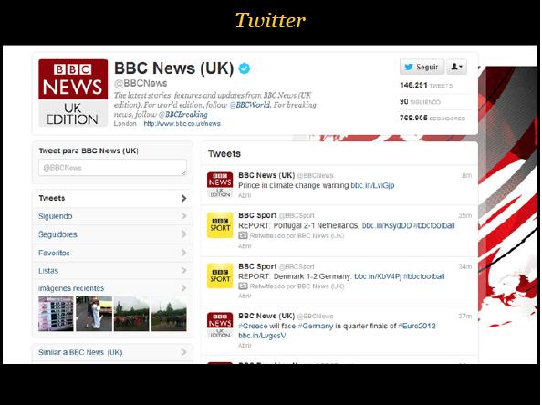 redes sociales medios periodisticos